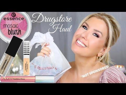 IMPROMPTU DRUGSTORE MAKEUP HAUL+ TRY ON  2019 | Risa Does Makeup thumbnail