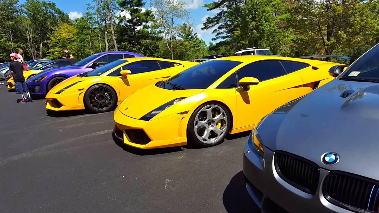 Mass Velocity Exotic Car Show. - YouTube