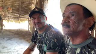 CHARLLES AND TIRINGA VISIT THE VILLAGE INDIGENOUS AT THE AMAZON  COMEDY WILD  ®