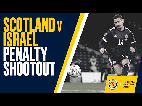 Scotland Beat Israel 5-3 On Penalties | UEFA EURO 2020 Play-Off Final Qualification