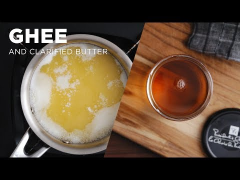 How to make Homemade Ghee (and clarified butter)