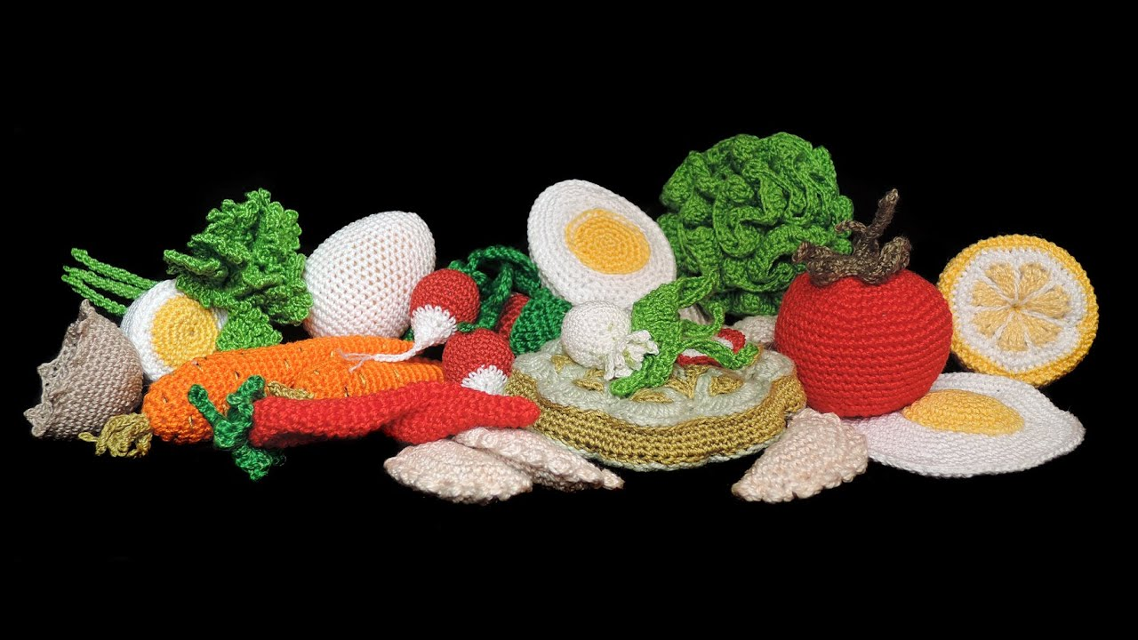 lebensmittel f r kinderk che h keln crochet food youtube