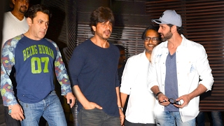 Salman Khan,Shah Rukh Khan,Hrithik - Bollywood Celebrities Spotted In Mumbai On 6th Feb 2017