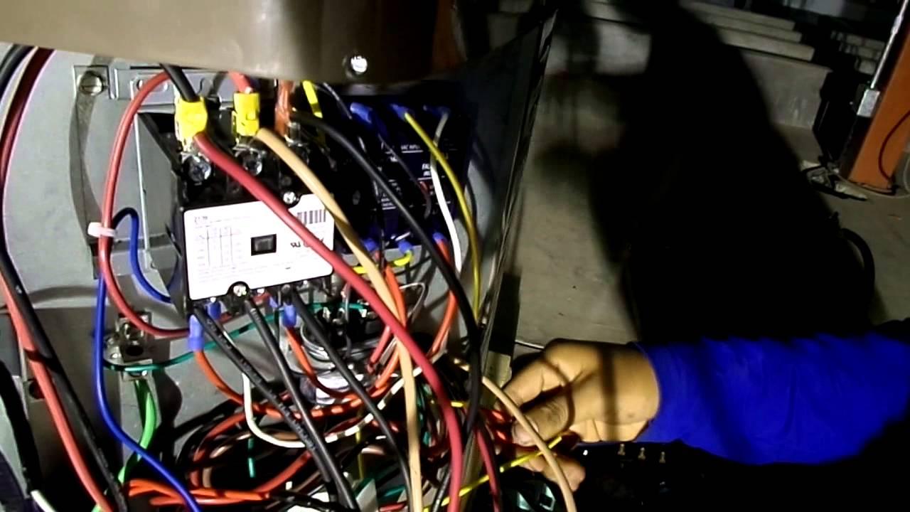 Sistema el ctrico de aire acondicionado de 36000 btu h - Calefaccion central electrica ...