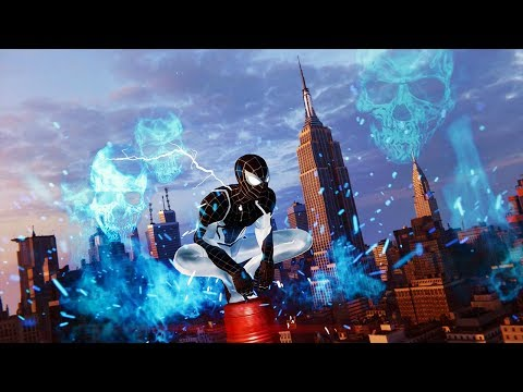 SpiderMan PS4: Electric Flames Build  Mastered Combat & Combos Gameplay Showcase  Vol6