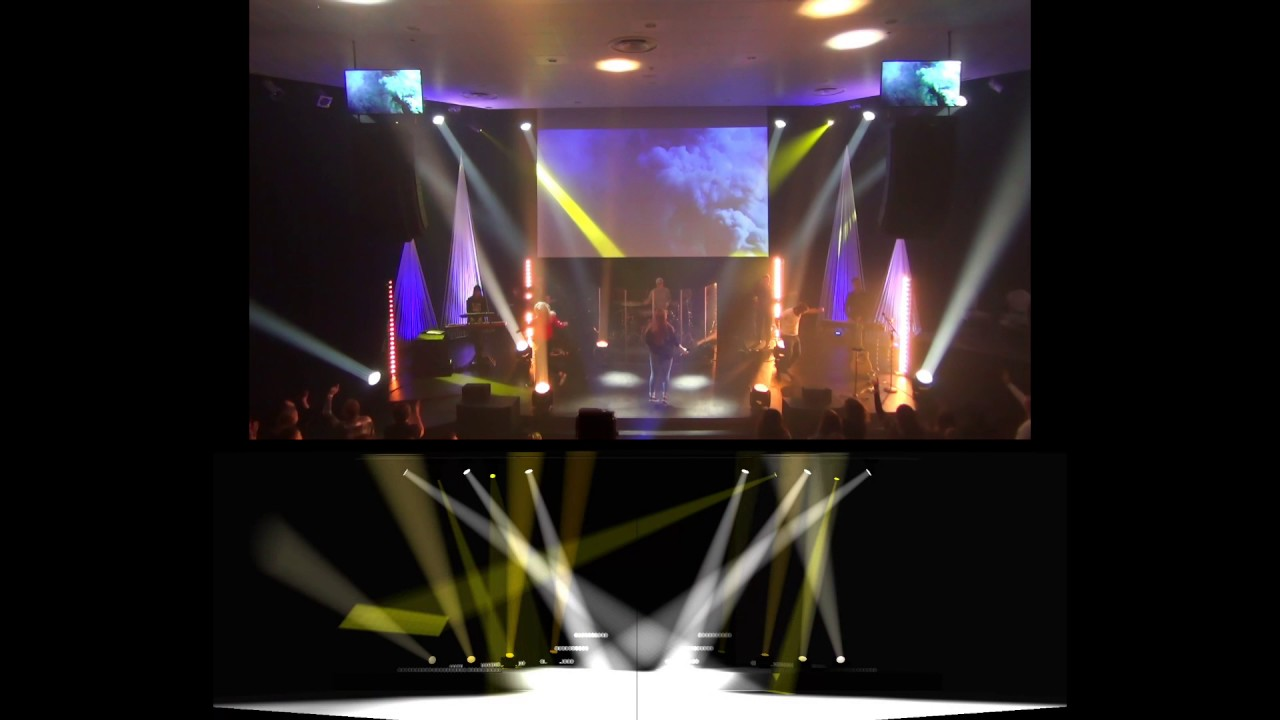 Shine a light visualizer live comparision lighting design youtube