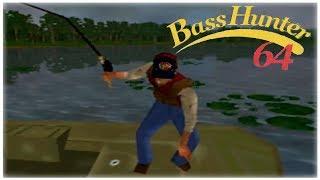 In-Fisherman Bass Hunter 64 Nintendo 64 Gameplay Walkthrough Part 5 - Tournament 5!