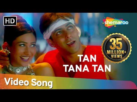 Tan Tana Tan Tan Taara | Judwaa Songs | Salman Khan | Karishma Kapoor | Abhijeet | Poornima