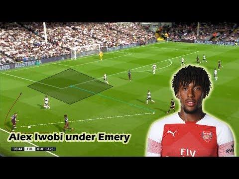 Alex Iwobi's Role under Unai Emery   Tactical Analysis Mp3