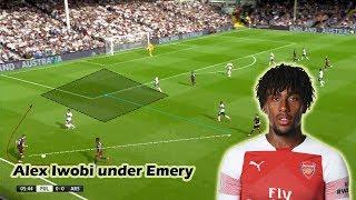 Alex Iwobi's Role under Unai Emery | Tactical Analysis