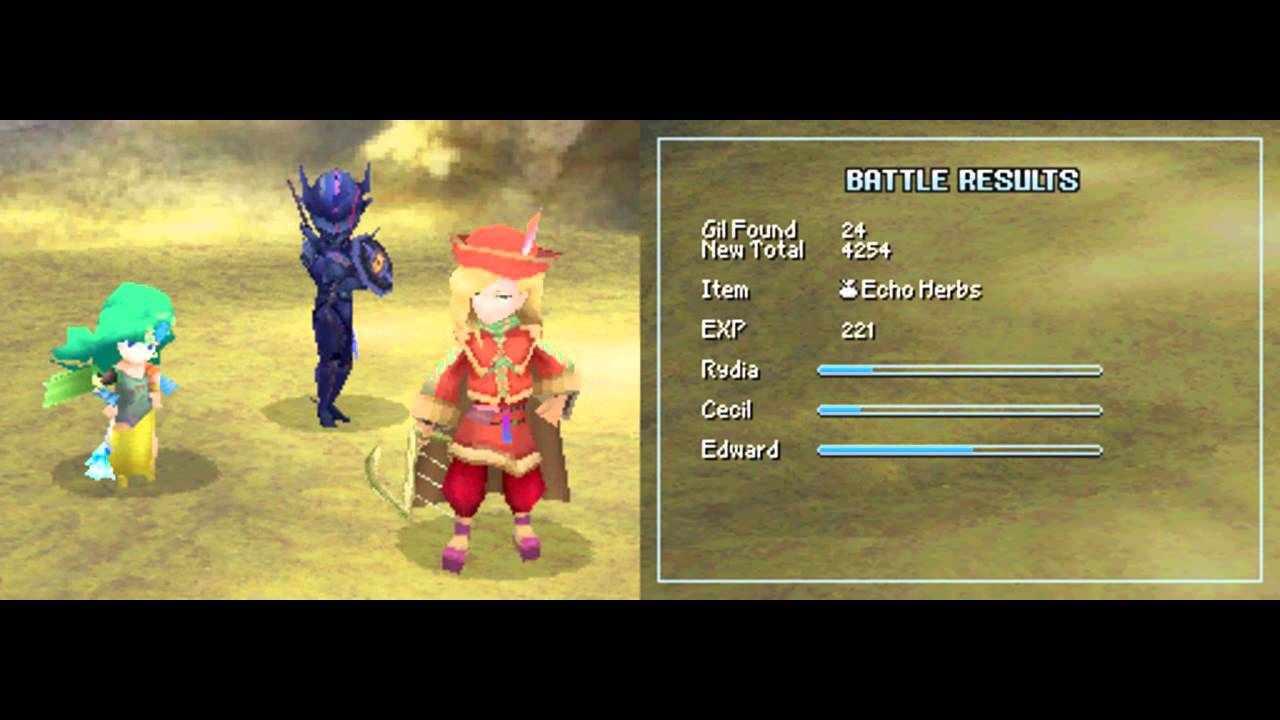 Final Fantasy Iv Ds Walkthrough 1 5 Part 5 Youtube