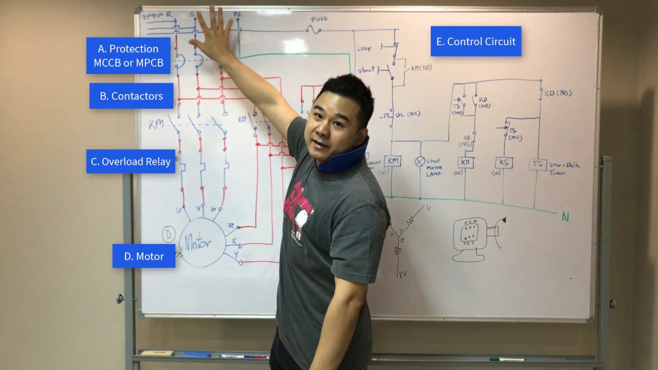 The Beginner S Guide To Wiring A Star Delta Circuit Factomart Singapore