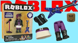 Roblox Toy Wild Starr, Celebrity Series 2 Core Pack & Code Item, Unboxing & Toy Review