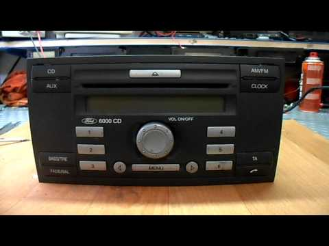 Free Ford keycode decode unlock all M-serie. ford cd player code