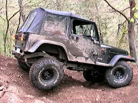 yssingeaux jeep wrangler yj 4l 6cyl rehausse 4 bl 3 pneu en 35 39 youtube. Black Bedroom Furniture Sets. Home Design Ideas