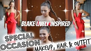 GRWM Formal Makeup | Blake Lively Makeup, Hair & Outfit Thumbnail