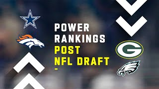 Post NFL Draft Power Rankings!