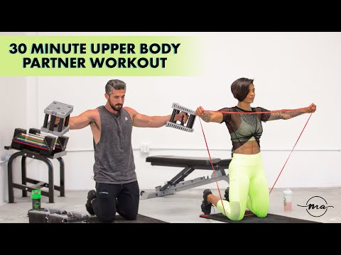 UPPER BODY AT HOME OR GYM 30 MINUTE PARTNER WORKOUT