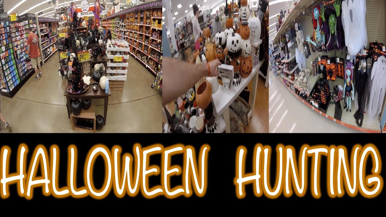 halloween hunting at kroger walgreens and marshalls