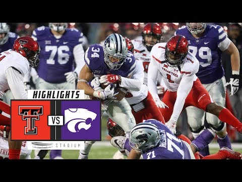 Texas Tech vs. Kansas State Football Highlights (2018) | Stadium