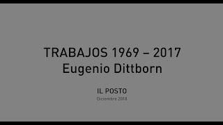 Conversaciones con Eugenio Dittborn, Etapa Temprana