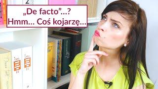 """""""De facto"""", """"notabene"""", """"stricte""""...? Już wyjaśniam! Mówiąc Inaczej, odc. 61"""