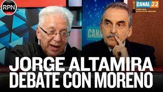 """""""Nos hemos comprometido a un debate con público"""" // Debate Altamira - Moreno"""