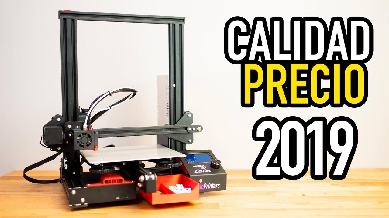La Mejor Impresora 3d Barata De 2019 Ender 3 Youtube Impresora 3d Impresora Impresion 3d