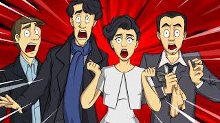 Смешные моменты в сериале Шерлок Холмс IKOTIKA ( 1 Сезон  3 Серия )