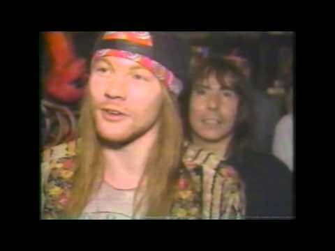 Guns N Roses 80's Interviews Part 3
