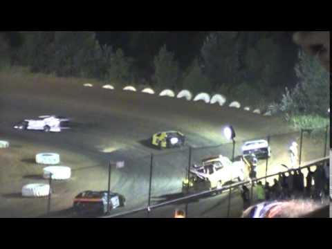 Crowley's Ridge Raceway Comp Cams 9/5/14 #21 Chris Sims Modified Feature Race