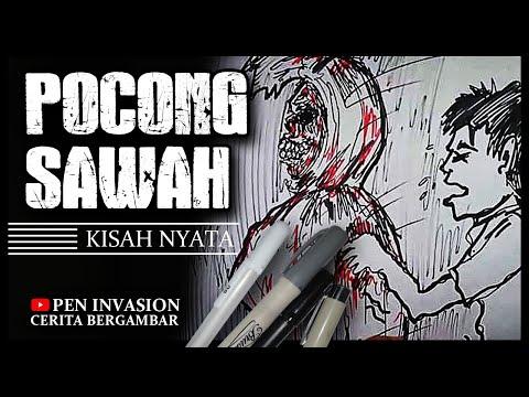 JUMAT SERAM #5 - Pen Invasion - Cerita Gambar - cerita Bergambar
