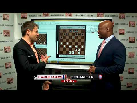 2017 London Chess Classic: Levon Aronian Disses Maurice