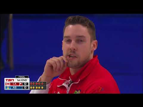 Gushue (CA) vs. Bottcher (AB) - 2018 Tim Hortons Brier - Final