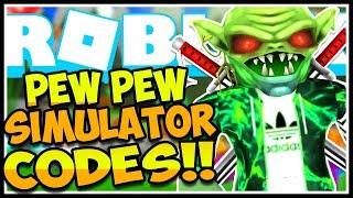🏹*5* NEW CODES PEW PEW SIMULATOR🏹Pew Pew Simulator Roblox🏹