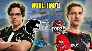 StarLadder Major 2019 Main Qualifier - Furia vs Forze - Nuke (MD1)