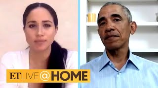 Meghan Markle, President Obama and Other Celebs Speak Out Amid Nationwide Protests | ET Live @ Home
