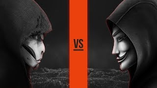 THE WATCHER VS ANONYMOUS