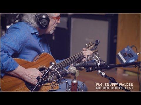 W.G. Snuffy Walden - Blue microphones (Test 1.0)