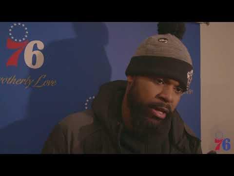 Amir Johnson | Postgame vs Jazz (11.20.17)