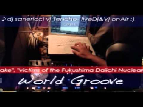 "3周年!sanericci cafe ""World Groove""@corner shop (chi"