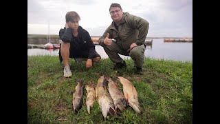 Рыбалка с родственниками Учил как поймать трофейную щуку