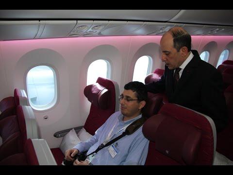 Qatar Airways' Akbar Al Baker talks Economy Class