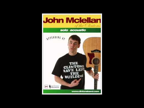 Kinky by The Clintons, performed solo acoustic by John McLellan of The Clintons