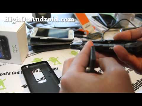 GSM HTC Evo 3D Unboxing!