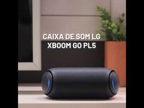 Caixa de Som LG Xboom Go PL5 Portátil Bluetooth IPX5
