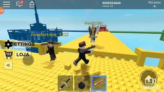 PLAYING THE GAME I DO NOT KNOW WAW (ROBLOX)