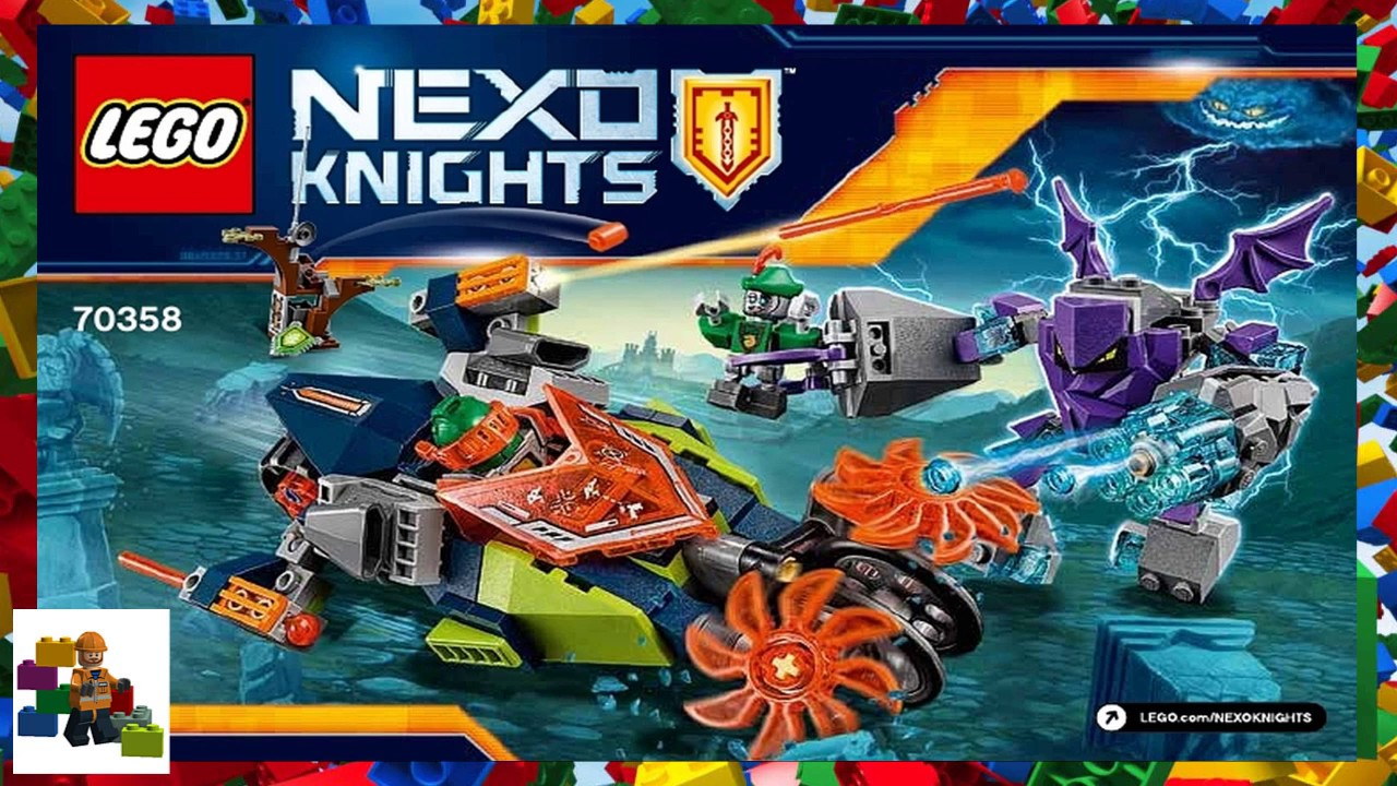 lego nexo knights instructions