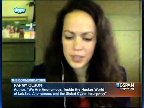 "Parmy Olson on Internet Hacker Group ""Anonymous"""