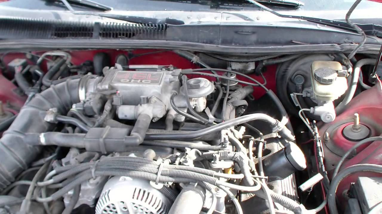 1996 Ford Thunderbird Engine Diagram Auto Electrical Wiring 97 Taurus High Milage Youtube 2004